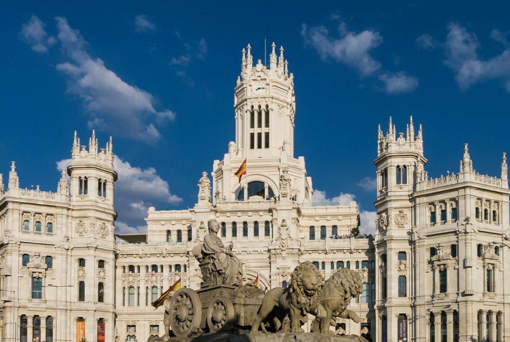 Områder i Madrid