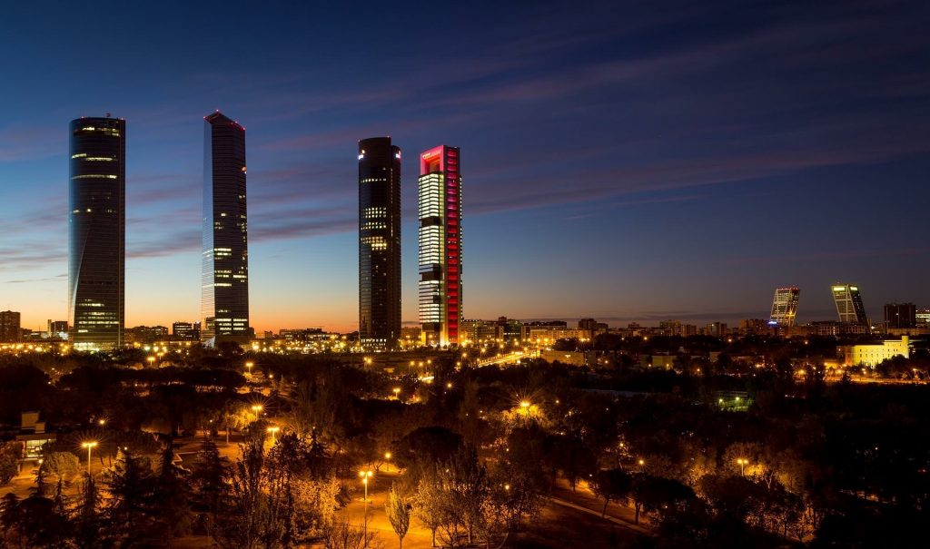 Turist i Madrid